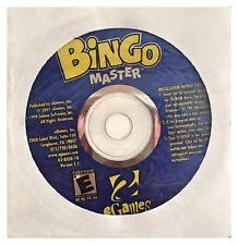 eGAMES BINGO MASTER (PC) BRAND NEW CD ROM SEALED IN PAPER SLEEVE -FREE U.S. SHIP