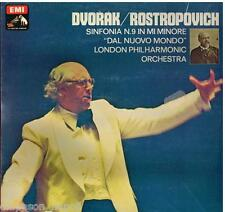 Dvorak: Symphony (Sinfonia) No. 9 new World / Rostropovich - LP EMI