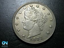 1883 WITH CENTS Liberty V Nickel  --  MAKE US AN OFFER!  #B5034