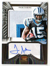 Joe Adams NFL 2012 Crown Royale JERSEY AUTOGRAFO ROOKIE CARD (Panthers) #/349