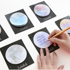 Portable Planet Creative Post-it Notes Mini Memo Pad Sticky Notes Bookmark Label