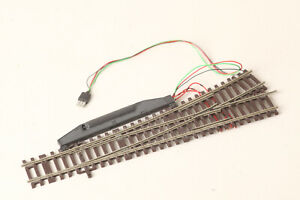 Roco H0 Lean Left Switch Electric Drive Track Braun (200135 67)