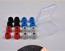 4 Pcs Noise Isolating Memory Foam Earbud Cover Tips Sponge Replacement