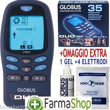 Elettrostimolatore Globus DUO PRO Omaggio 1 Gel + 4 Elettrodi,Elettrostimolatore