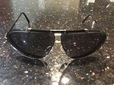 Vintage carrera style 5401 Black/gold 1980's sunglasses small