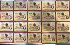 Lot of 20- Leinenkugel's Chippewa Pride 32oz Irtp Vintage Original Labels