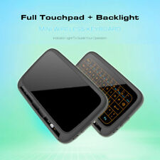 Air Mouse Touchpad Backlit Keypad Remote Wireless Keyboard for Streaming Player