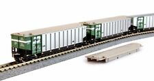 N Scale Bethgon Protein Gondola 8-Car Set - Bn #1 - Kato #106-4650