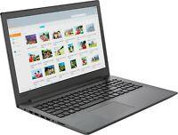 """Lenovo 15.6"""" HD AMD A6-9225 3.0GHz 500GB HDD 4GB RAM DVD HDMI WIN10 Webcam Black"""