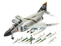 F-4J Phantom II Revell Model Set Including Glue Paint & Brush 1:72