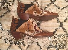 Western Cowboy Boots Zalo Cactus Shoes Horseshoe Horse Sold By Free People
