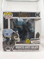 Games of Thrones Rides Funko Pop - Mounted White Walker (Glow) - No. 60