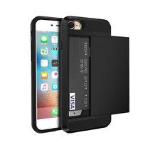 Protection TPU Rigide Fente Porte Carte de Crédit pour Smartphone iPhone 7 Plus