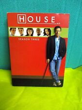 DR. HOUSE M. D. Season three complete 5 dvd - Universal 2007