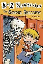 The School Skeleton (A to Z Mysteries)-ExLibrary