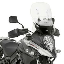GIVI Fairing Sliding Airflow Clear Suzuki DL 650 V-strom 2017