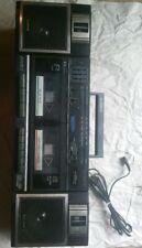 Vintage Sony CFS-W360 Dual Cassette Tape Deck Ghetto Blaster Boom Box Stereo