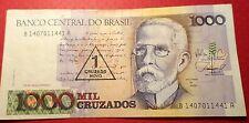 A 1 Cruzado Novo = 1,000 Cruzados from Brazil P-216b A-812