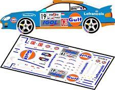 DECALS 1/43 TOYOTA CELICA GT-4 #19 DERAEDT -FINALE COUPE DE FRANCE 2009 - D43049