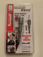 Trend SNAP/ND/7M Snappy Magnetic Nut Driver 7mm A/F            p12