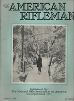 The American Rifleman Mag .38-40 Revolver Niedner Rifle March 1928 012521nonr