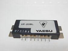 YAESU VP-20BL POWER MODULE HAM RADIO GOES IN FTV-707 NEW