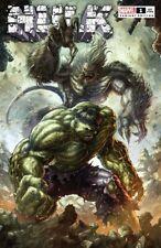 Hulk #1 Alan Quah Nm Trade Variant Marvel 2021 By Donny Cates