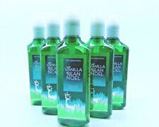 5 BATH & BODY WORKS VANILLA BEAN NOEL GENTEL GEL  HAND SOAP WITH ESSENTIAL OILS