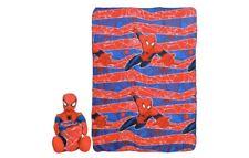 Marvel Spider-Man 40'' x 50'' Character Pillow & Throw Set 100%