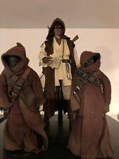 Hot Toys Sideshow1/6 Mythos Obi Wan Kenobi and 2 Jawas