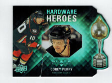 2011-12 COREY PERRY UD BLACK DIAMOND HARDWARE HEROES DIE-CUT INSERT #ED 75/100