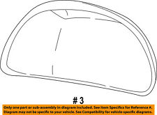 FORD OEM F-150 Door Side Rear View-Mirror Cover Cap Trim Right XL1Z17D742AAA