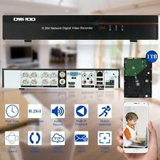 8CH FULL 960H/D1 CCTV DVR RECORDER SECURITY SYSTEM HDMI WITH 1TB HARD DRIVE New
