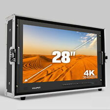 LILLIPUT BM280 4K Broadcast Ultra-HD Field Monitor with 3G SDI HDMI DVI VGA HOOD