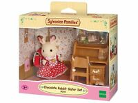 SYLVANIAN FAMILIES 5016 CHOCOLATE RABBIT SISTER SET TOY