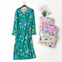 Women's Oversize Sleep Shirt T-Shirt Night Gown 100% Cotton Tee Nightshirt Dress