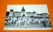CPA CARTE POSTALE 1916 REGIONALISME LE HAVRE LE CASINO LA PLAGE HAUTE NORMANDIE