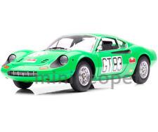 HOT WHEELS T6260 ELITE FERRARI DINO 246 GT # 83 NURBURGRING 1971 1/18 GREEN