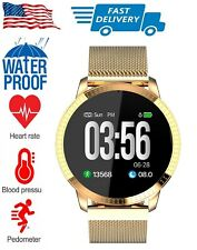 WaterProof Smart Watch with Step Calorie Counter for iPhone Samsung LG Motorola