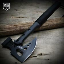 "15"" Black Tactical TOMAHAWK Throwing Axe COMBAT Survival MULTI TOOL + Sheath"