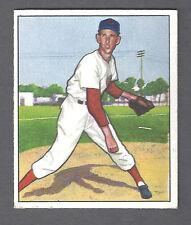 1950 Bowman #63 Ewell Blackwell Pitcher Cincinnati Reds EX Plus