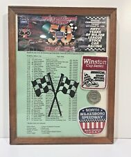 Collection of Last Winston Cup NASCAR Race at North Wilksboro Speedway