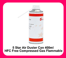 Compressed Air Duster Spray Can 5 Star Computer Keyboard Dust Blower Cleaner