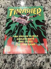 Thrasher Skateboard Magazine March 1987 Issue