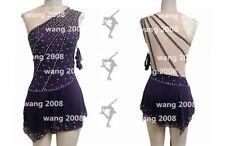Figure Skating Dress Girls' High Elasticity Competition Skating handmade