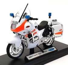 Welly 1/18 Scale Motorcycle 07439 - BMW R1100 RT Police Version - White