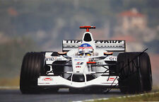 Jacques Villeneuve SIGNED 12x8  BAR-Honda 004 , Hungarian GP Hungaroring 2002