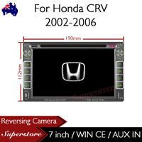 "7"" Car DVD GPS Head Unit Stereo Radio Navi For Honda CRV 2002-2006"