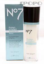 Boots No 7 Protect & Perfect Advanced Serum / INTENSE Advanced Serum 30ml