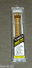 TIMEX FAST FIT 16-20MM SILVER &GOLD TWO TONE WATCH BAND TX843T